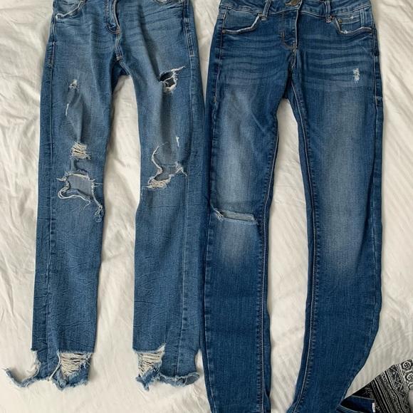 2020 season Zara jeans size 4 $20 each